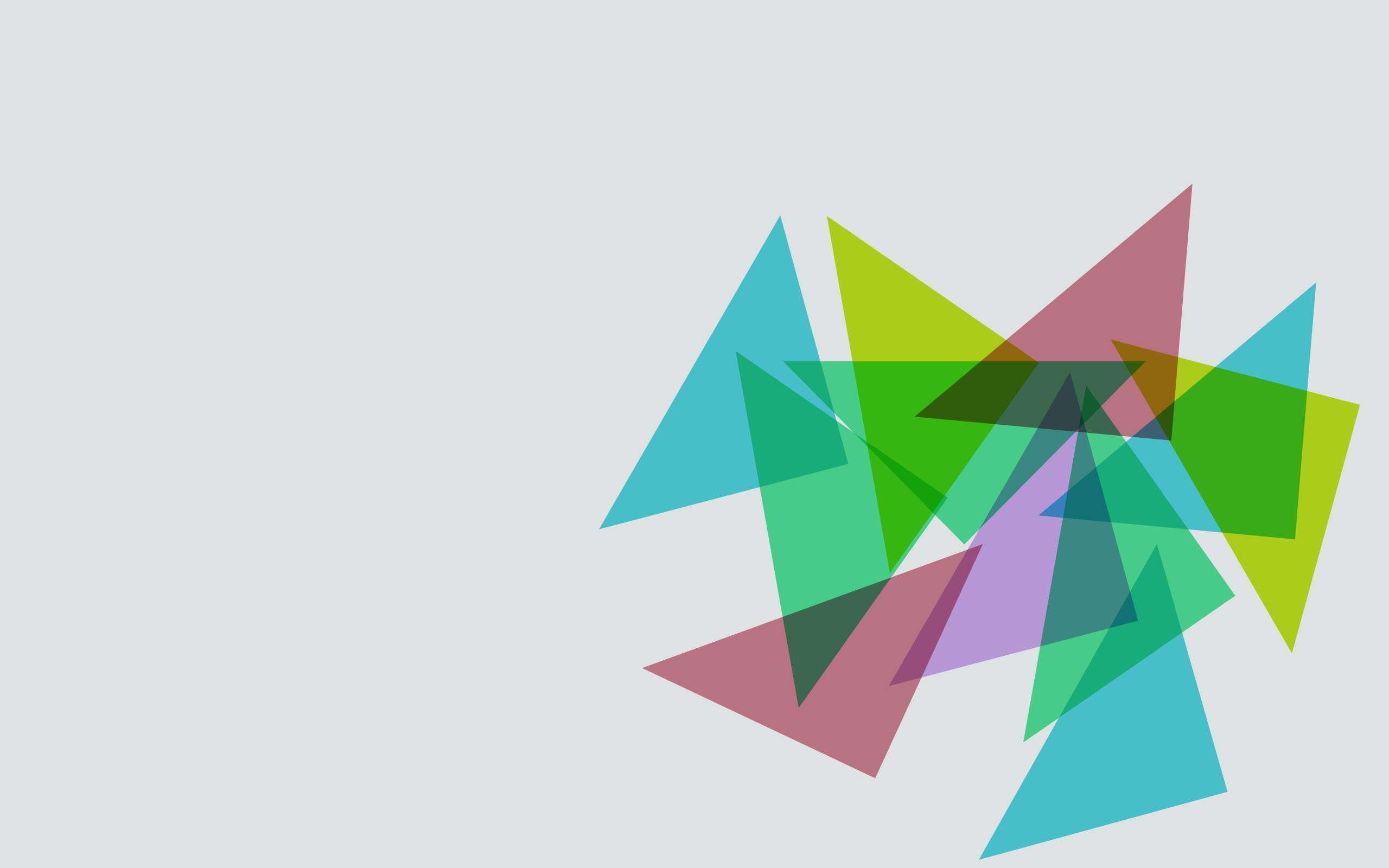Wallpaper triangles, background, shape