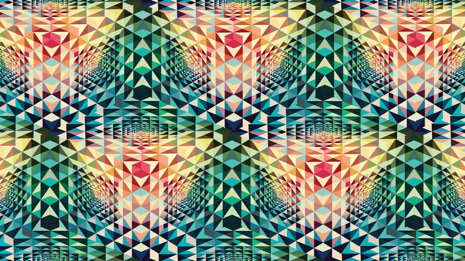 Wallpaper Kaleidoscope, Patterns, Colorful, Shape