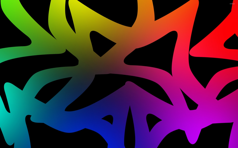 Neon shapes [2] wallpaper jpg