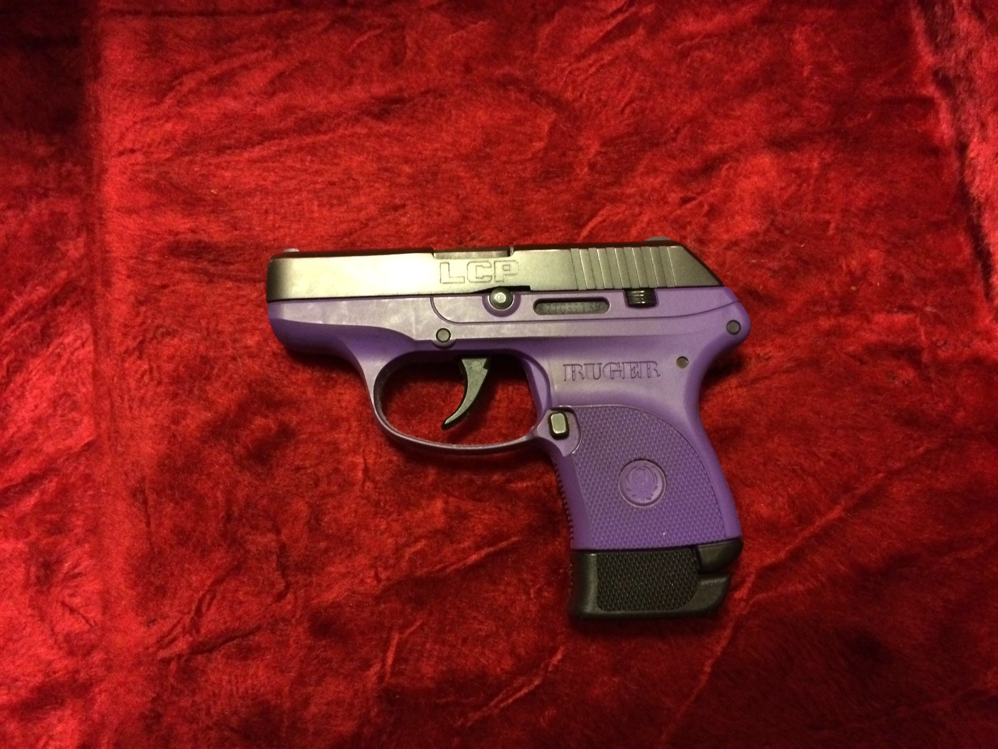 Ruger LCP Purple