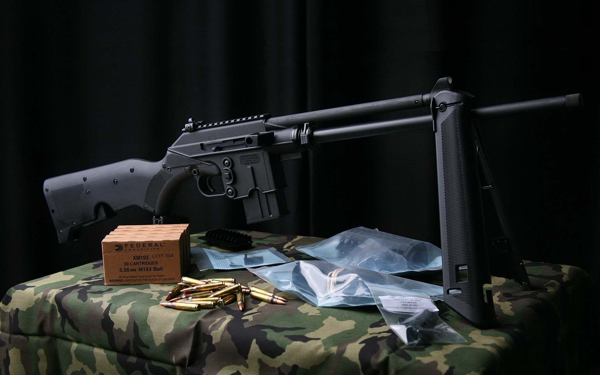 Ruger SR 556 Assault Rifle   HD Guns Wallpaper Free Download …