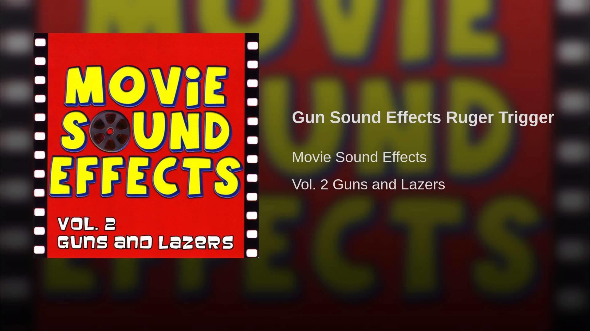 Gun Sound Effects Ruger Trigger