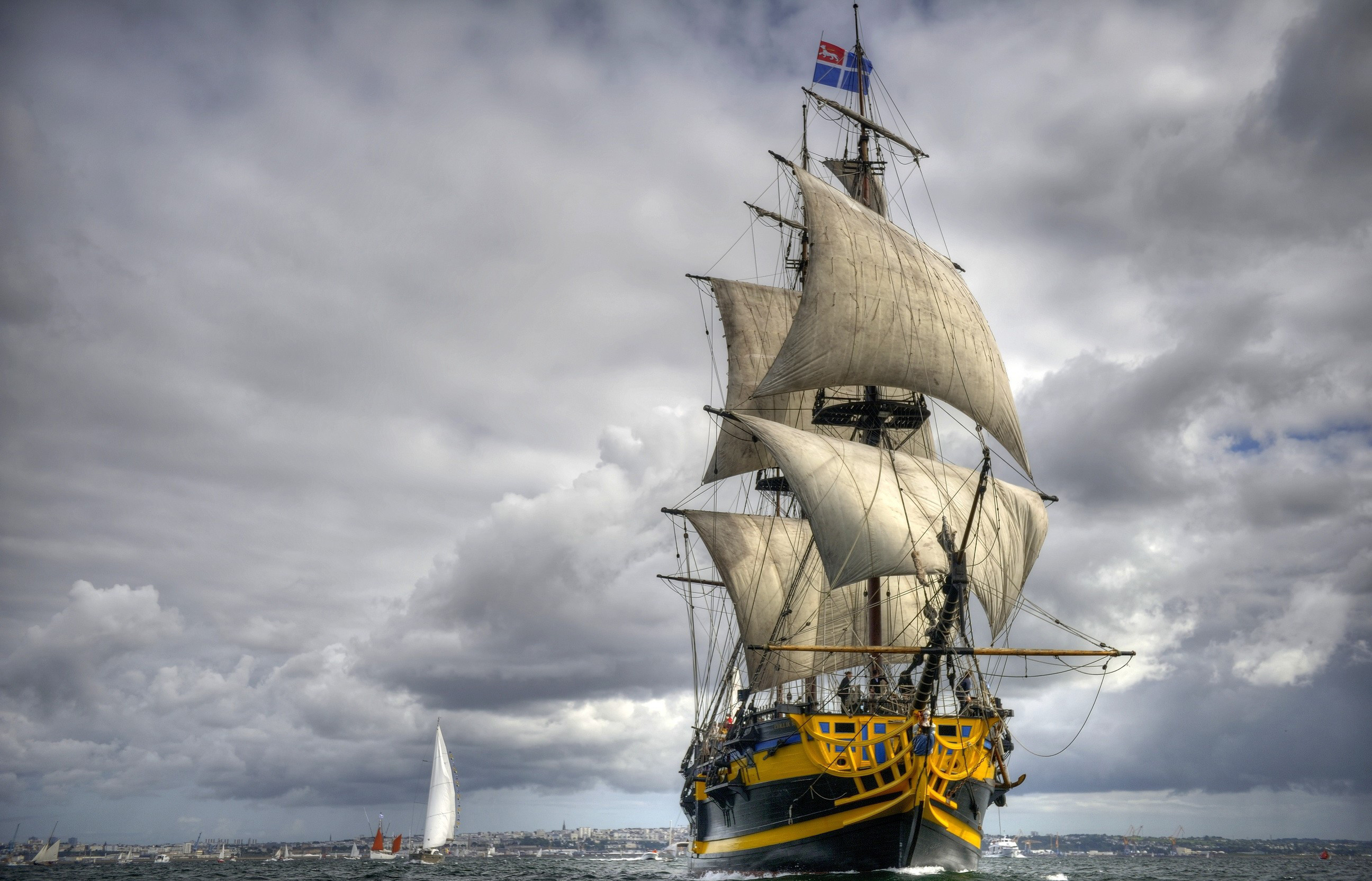 HD Wallpaper | Background ID:370125. Vehicles Sailing Ship. 12  Like. Favorite