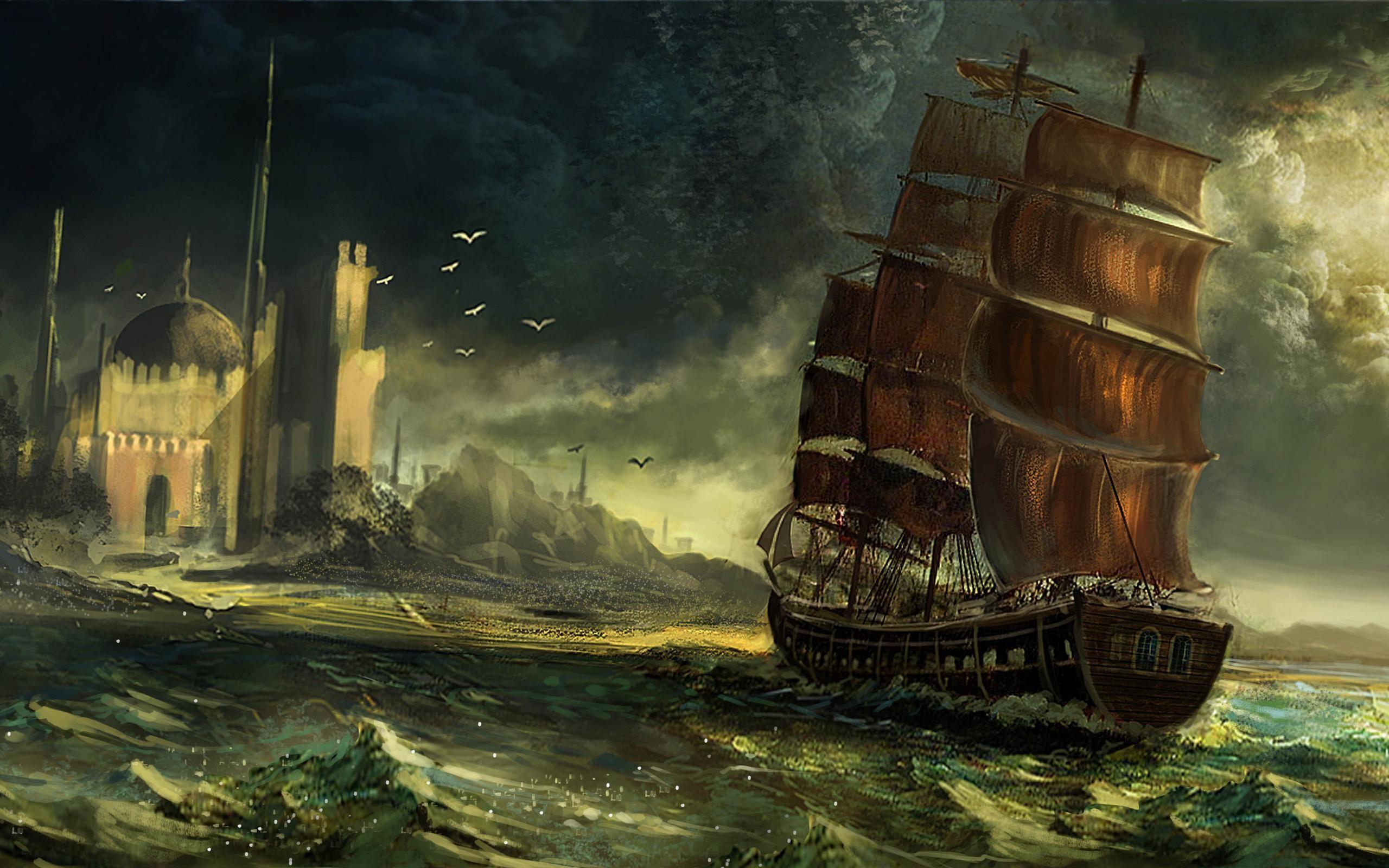Pirate Ship #k8ni px 415.63 KB Other ghost pirate ship wallpaper  pirate pirate ship