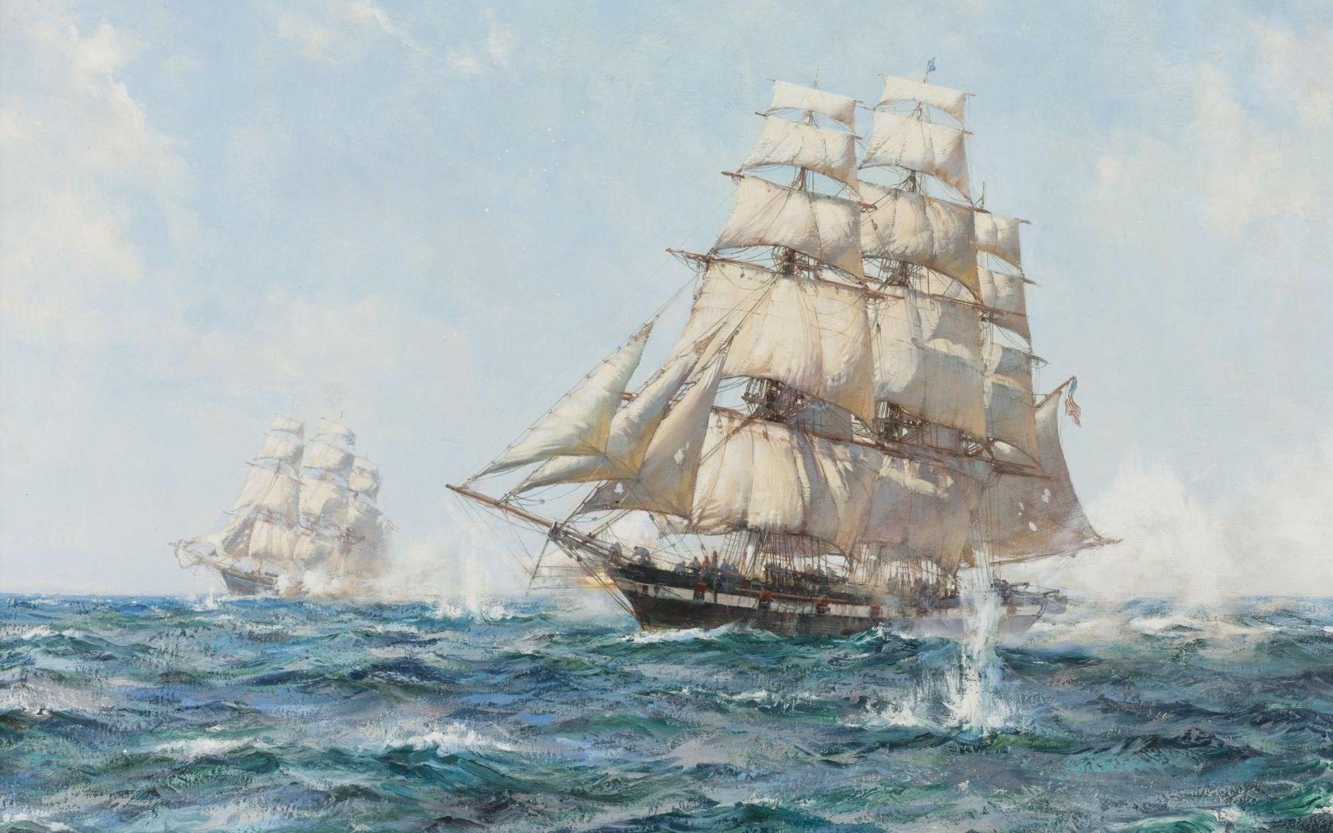 sailing ship – Background hd