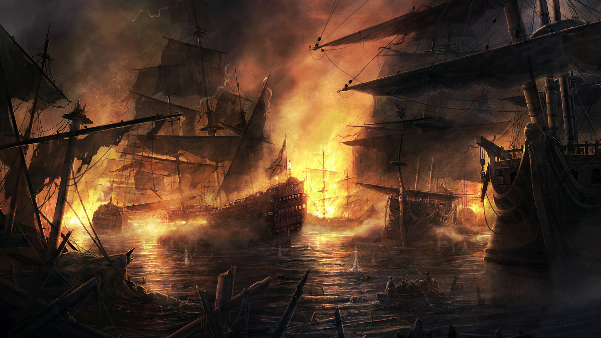 Old Pirate Ships Old Sailing Ships Pirate Wallpapers Windows 1920×1080