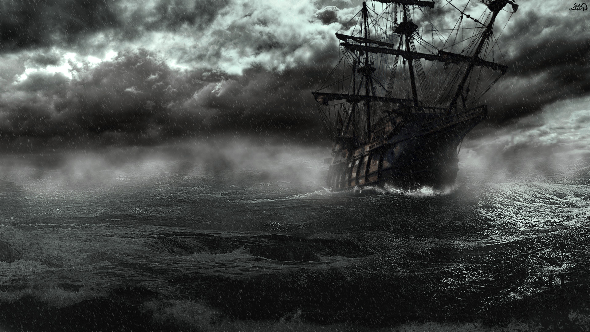 Old Pirate Ships Old Sailing Ships Pirate Wallpapers Windows 1920 .