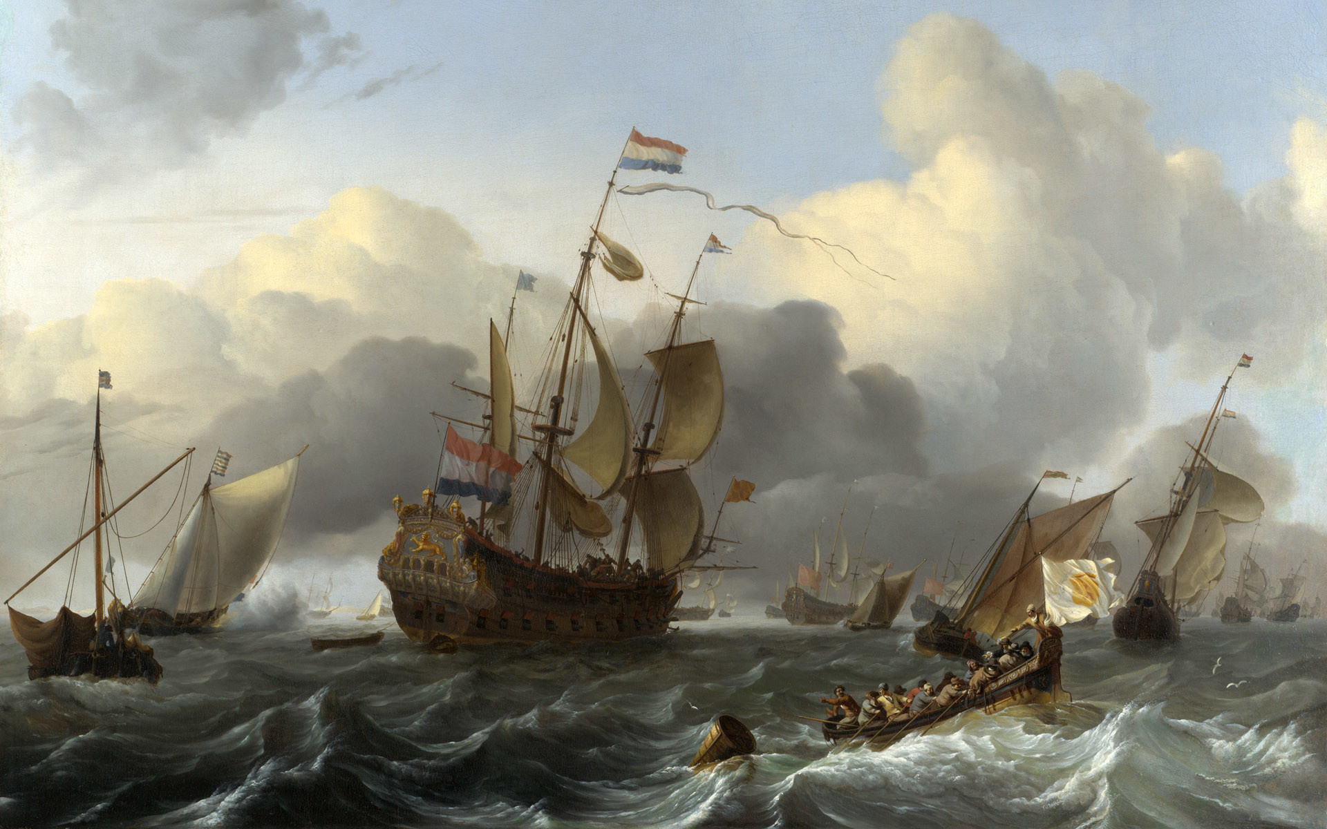 Ludolf Bakhuizen German-born Dutch Golden Age painter | Paintings |  Pinterest | Dutch golden age, Golden age and Paintings
