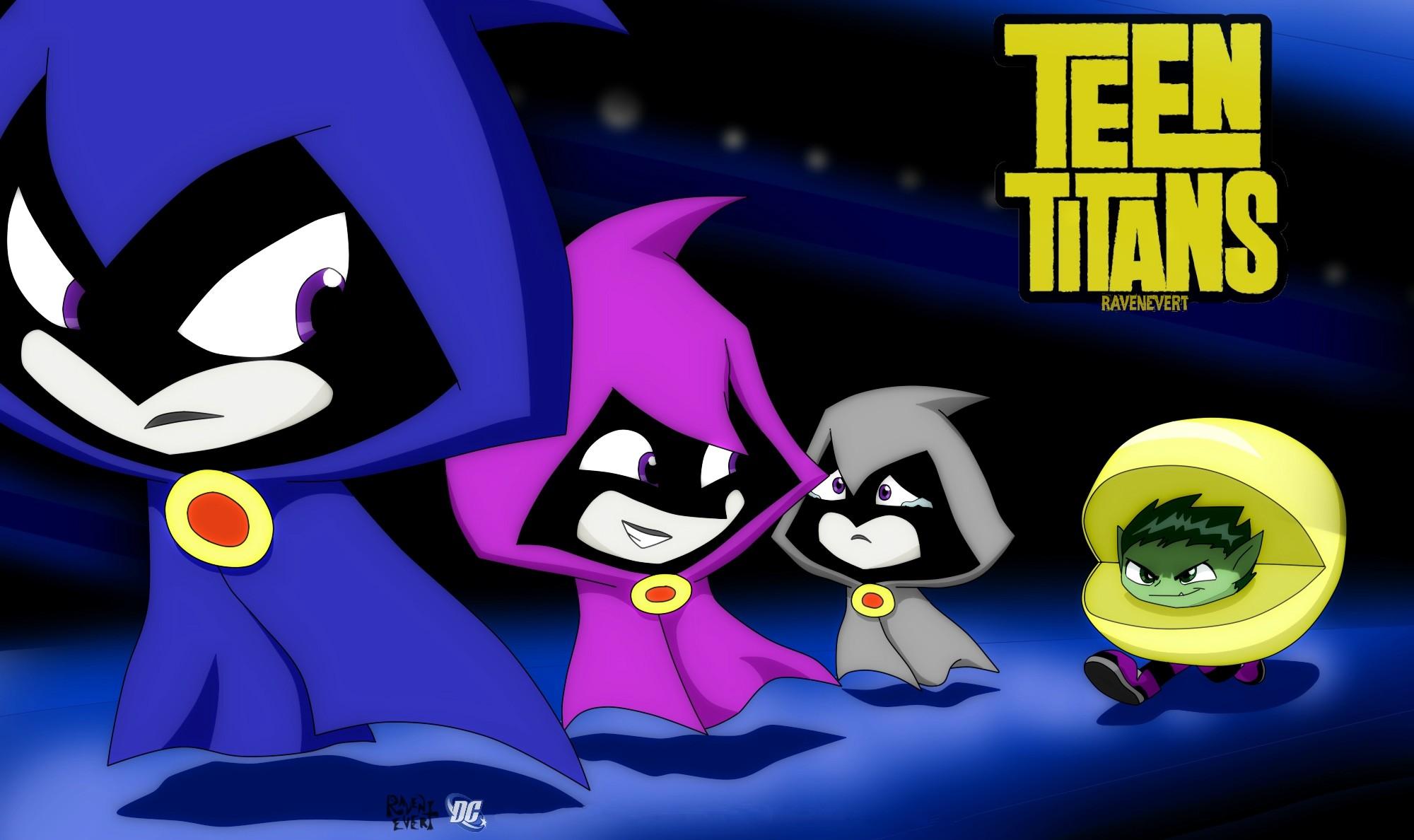 Teen Titans Wallpaper · Teen TitansRavens