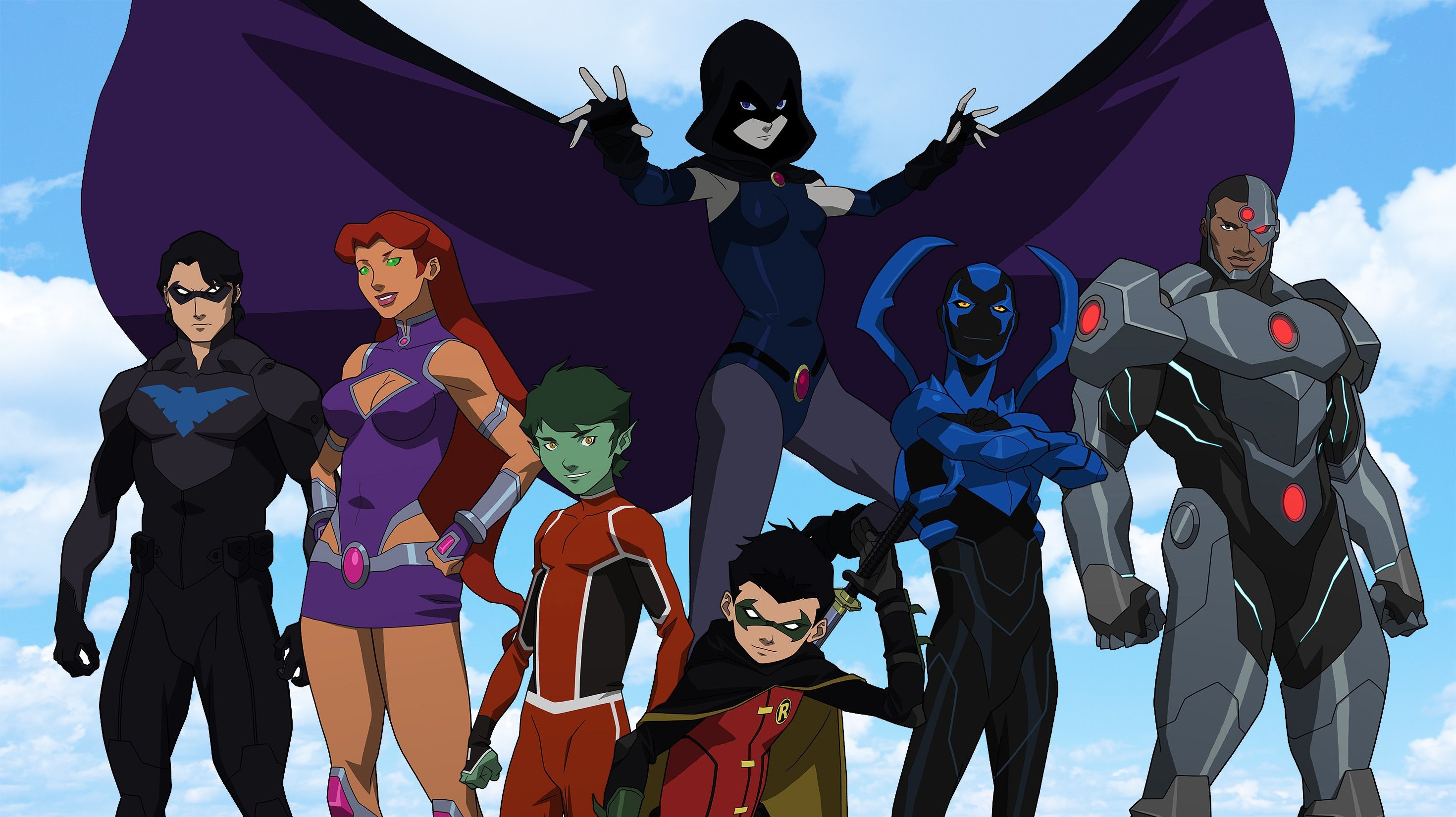 Teen Titans HD Wallpapers   Backgrounds – Wallpaper Abyss
