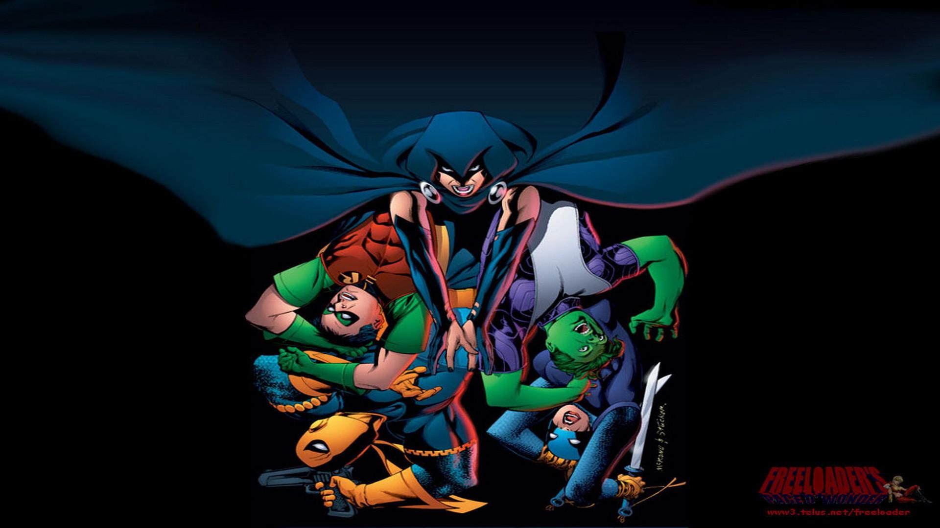 Teen-Titans-dc-comics-3976094-1024-768, Wallpaper HD