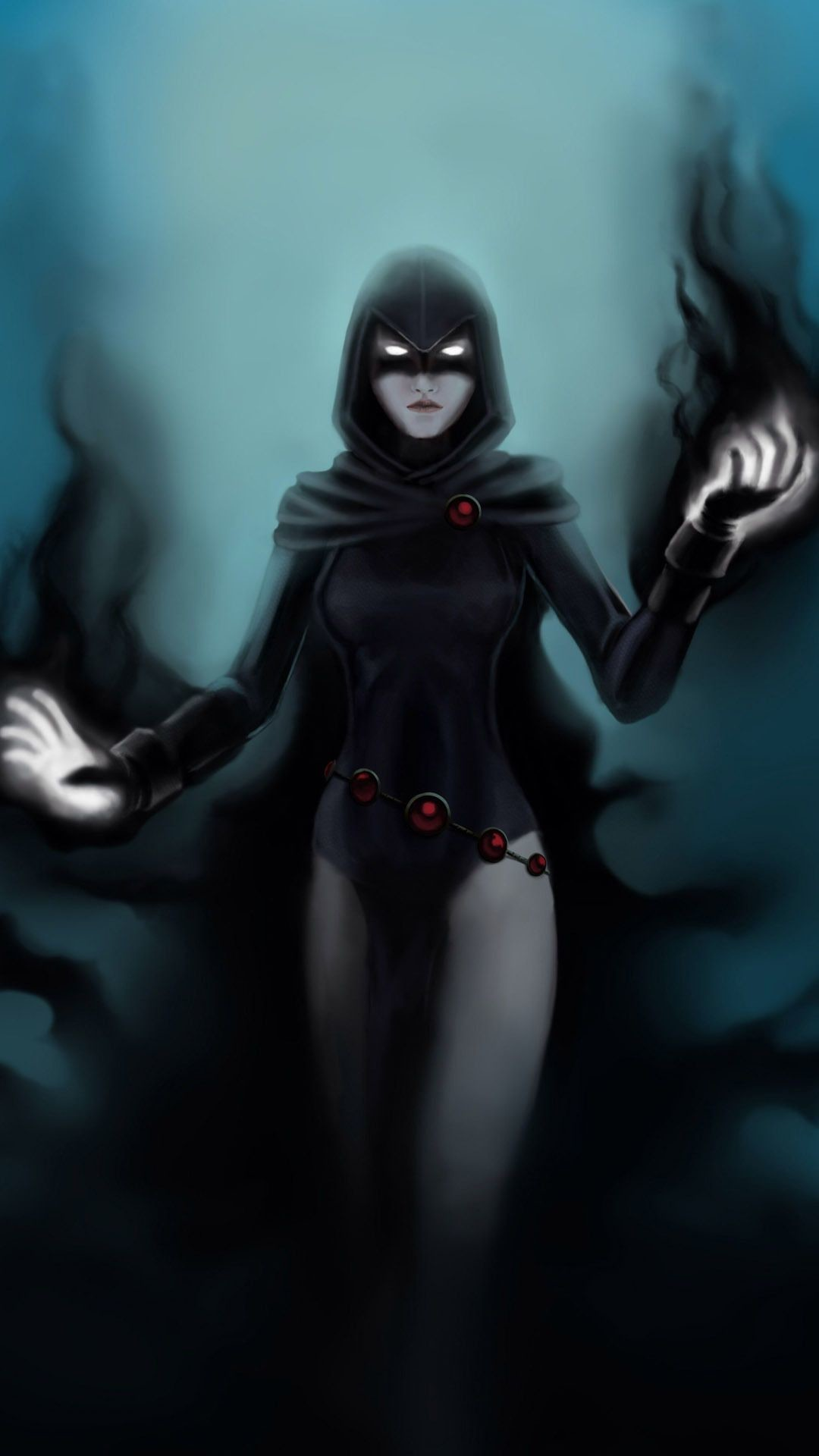 Raven – Teen Titans Mobile Wallpaper 14009