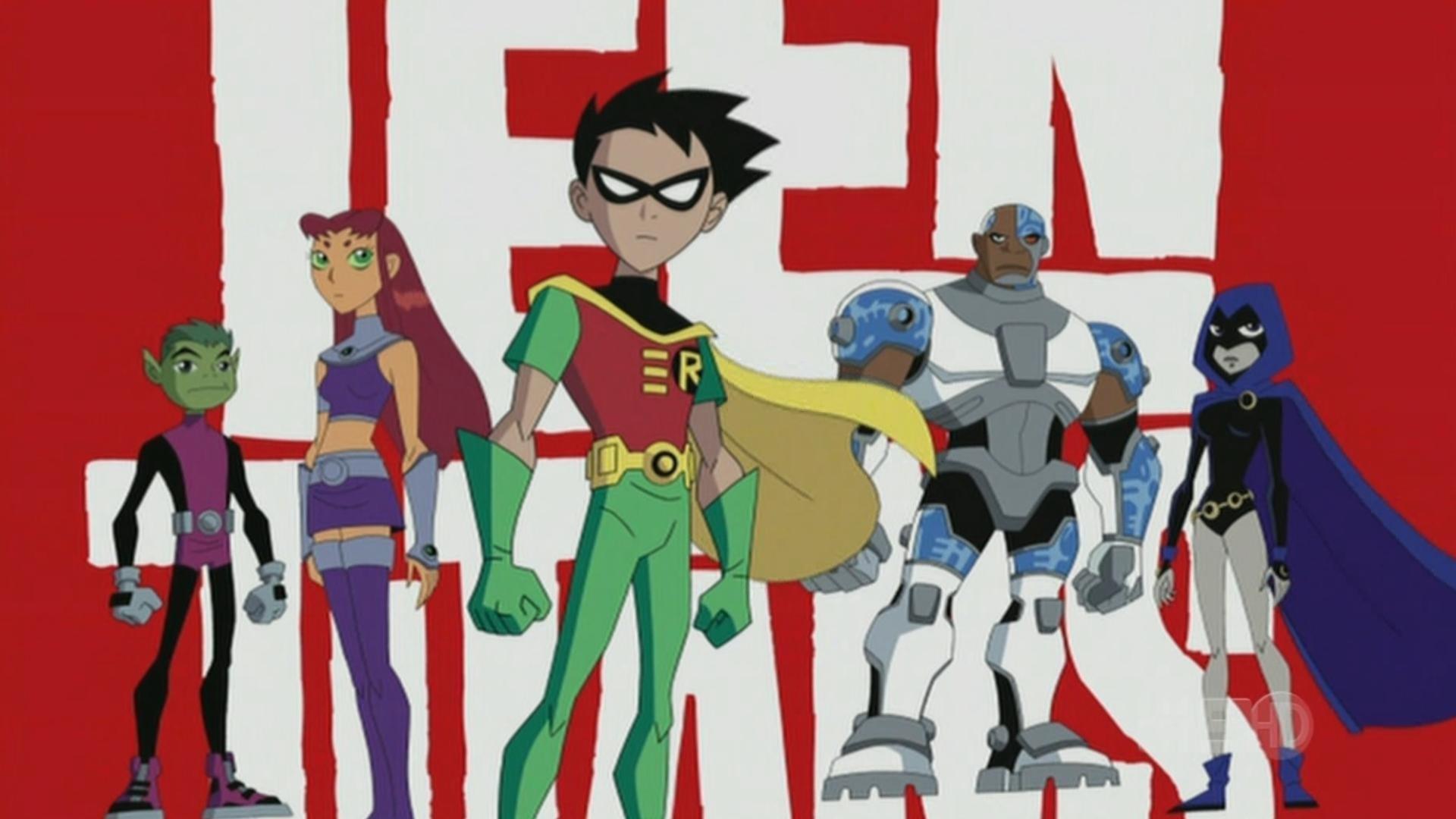 10 Teen Titans Wallpapers   Teen Titans Backgrounds