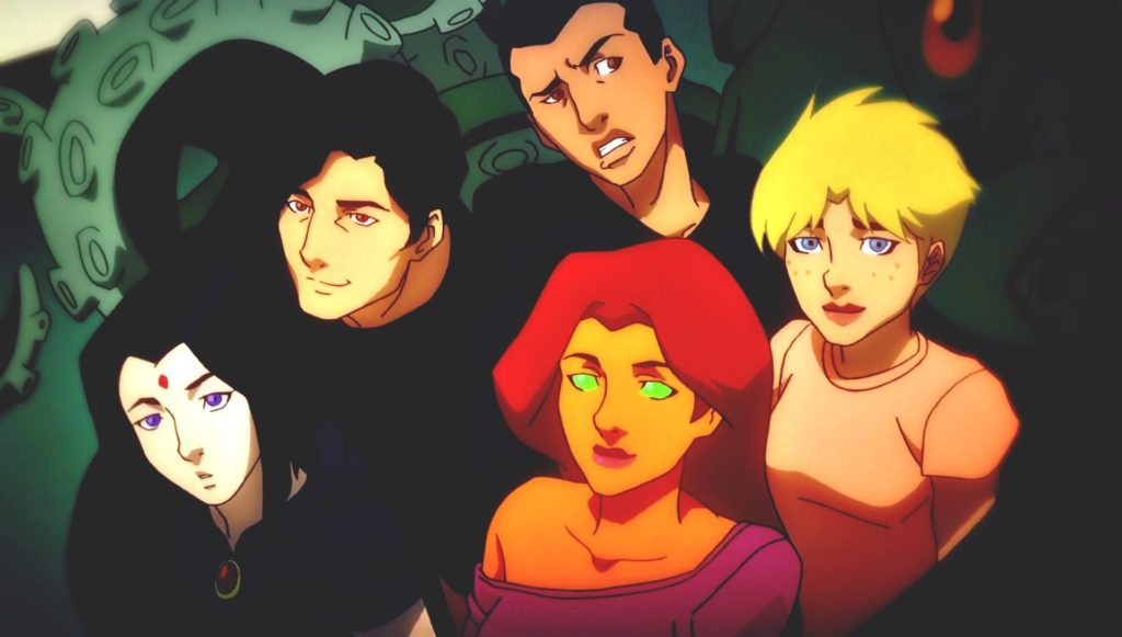 Movie – Teen Titans: The Judas Contract Raven (DC Comics) Blue Beetle (