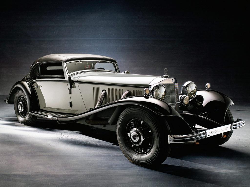 1935 Mercedes Benz 500K Cabriolet A luxury retro r wallpaper