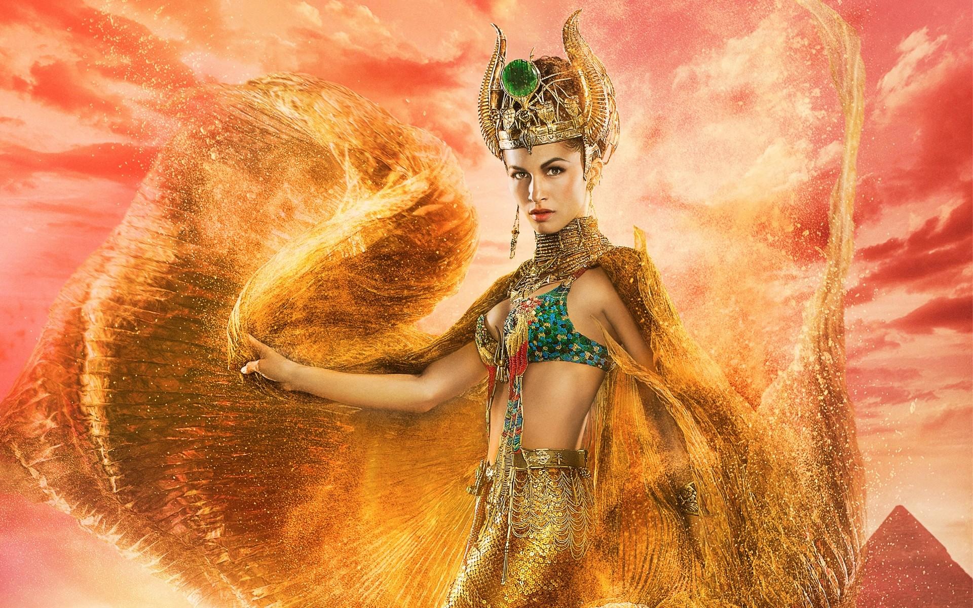 Hathor Goddess of Love Gods of Egypt Wallpapers | HD Wallpapers