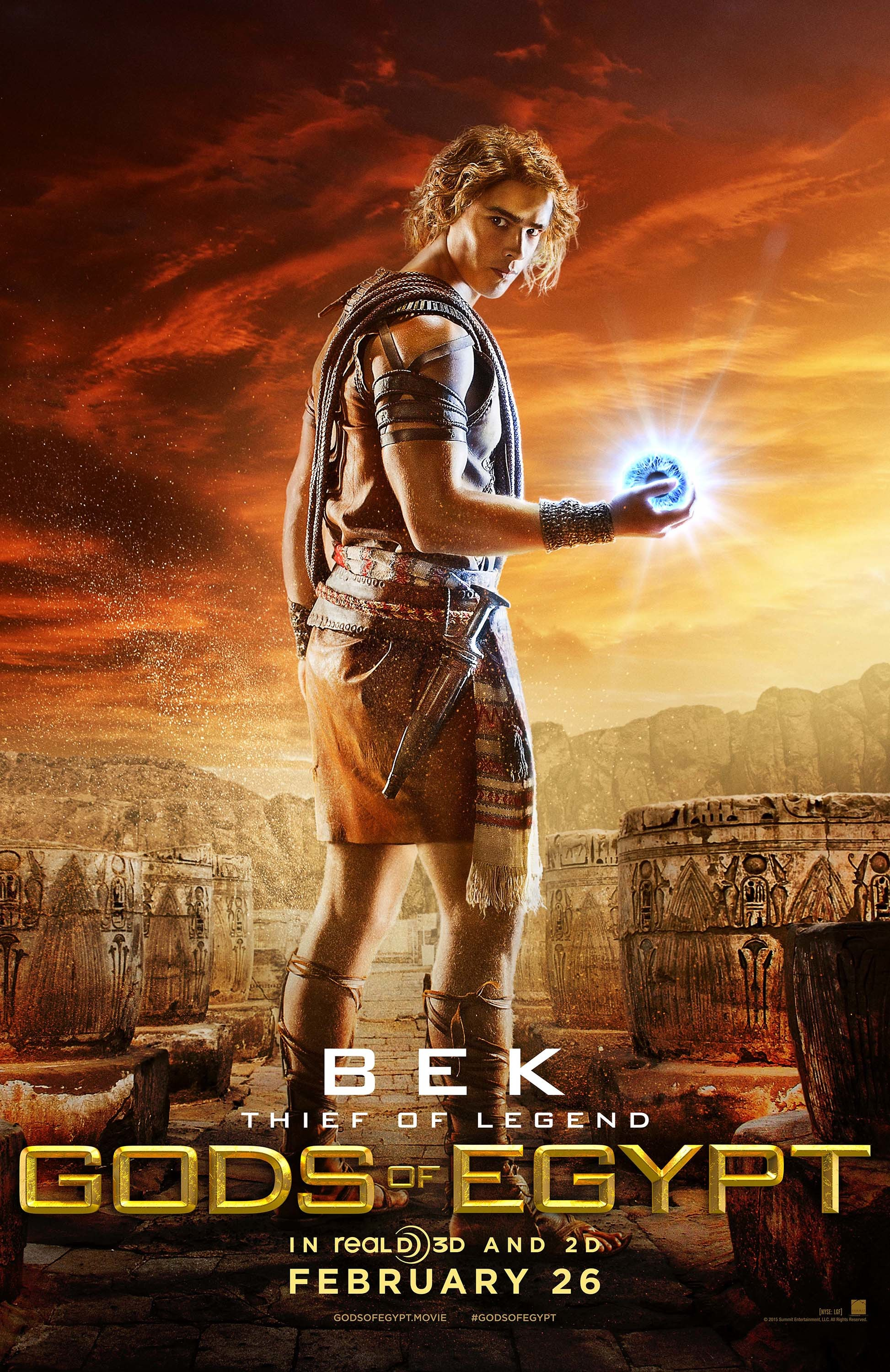Gods of Egypt images Bek Poster HD wallpaper and background photos