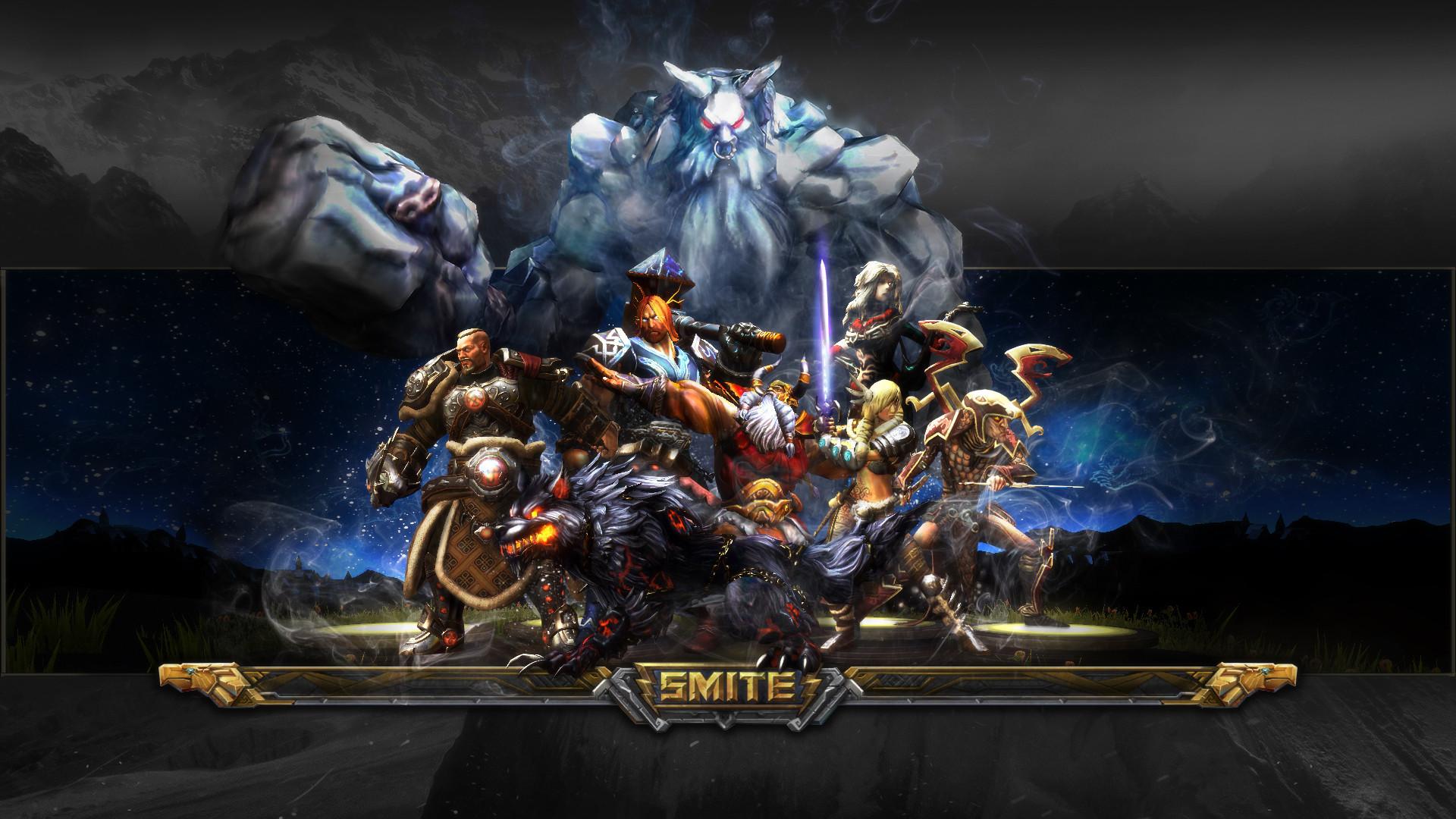 Smite Game HD Wallpaper