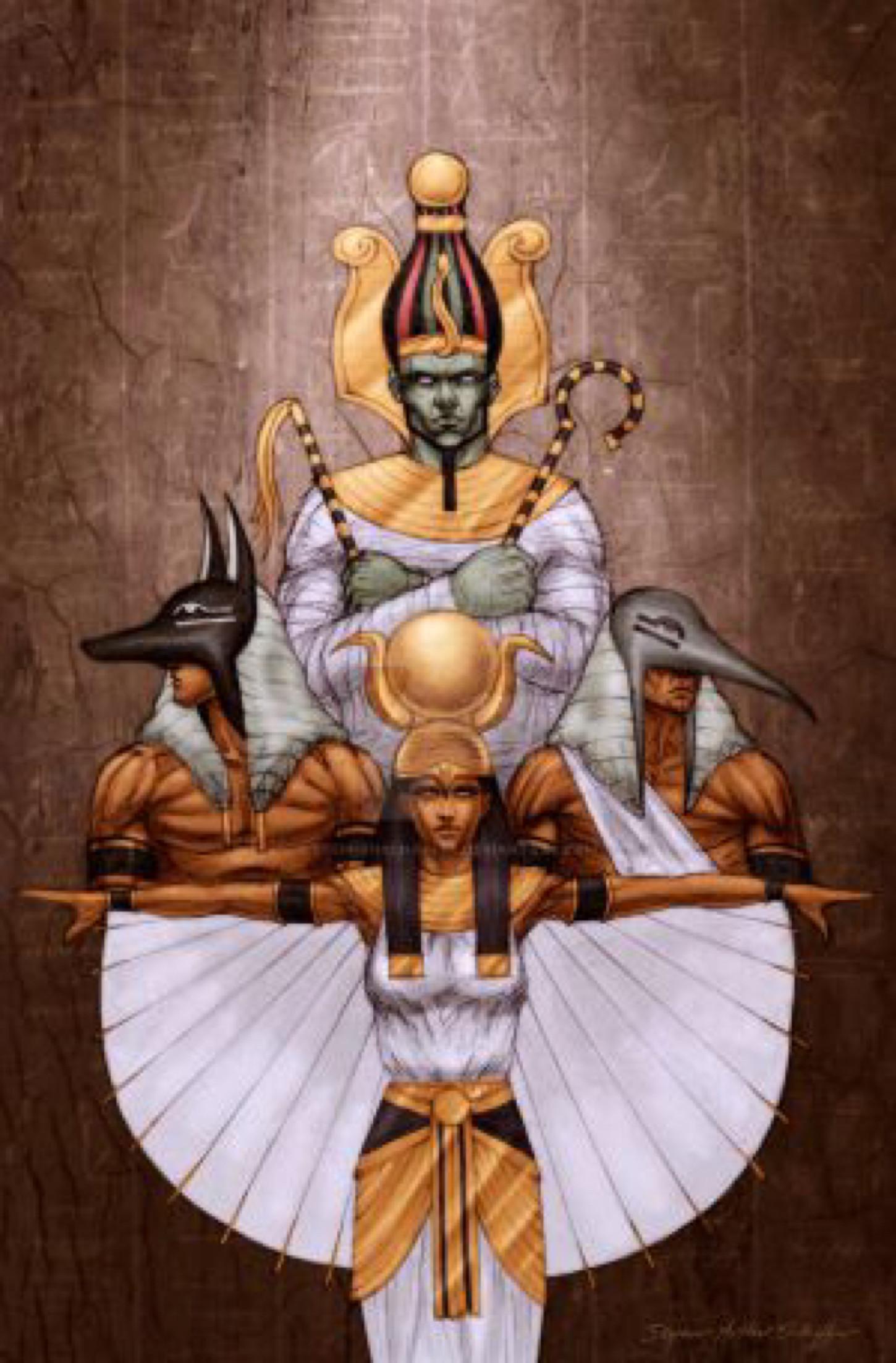 Egyptian Family Portrait by StephenSchaffer on @DeviantArt