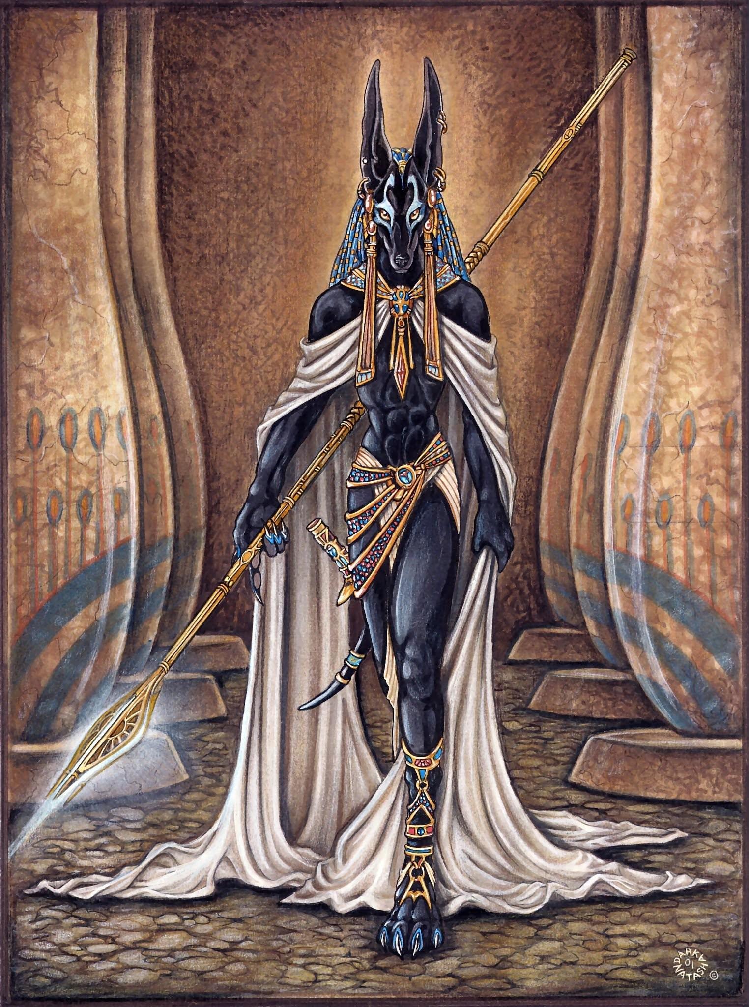 """Obsidian Eagle 2017 on Twitter: """"#AnubiS #DevianTArT #EgyptologY #EtheRSeC  #GodS #GoddesseS #HoruS #MythologY #MythoS #NeterS #ThelemA #SpiritualitY  …"""