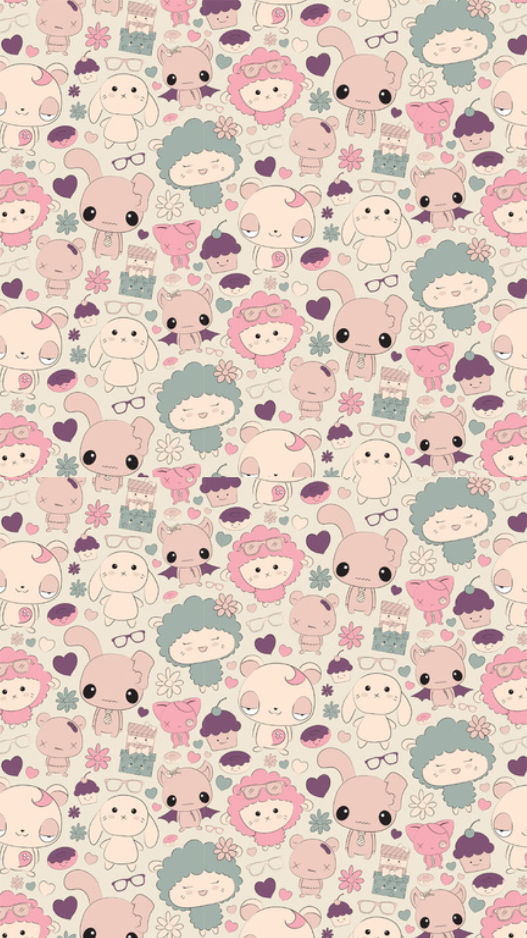 Download kawaii wallpaper for phone – Kawaii Pattern Wallpapers … –  Wallpaper Zone