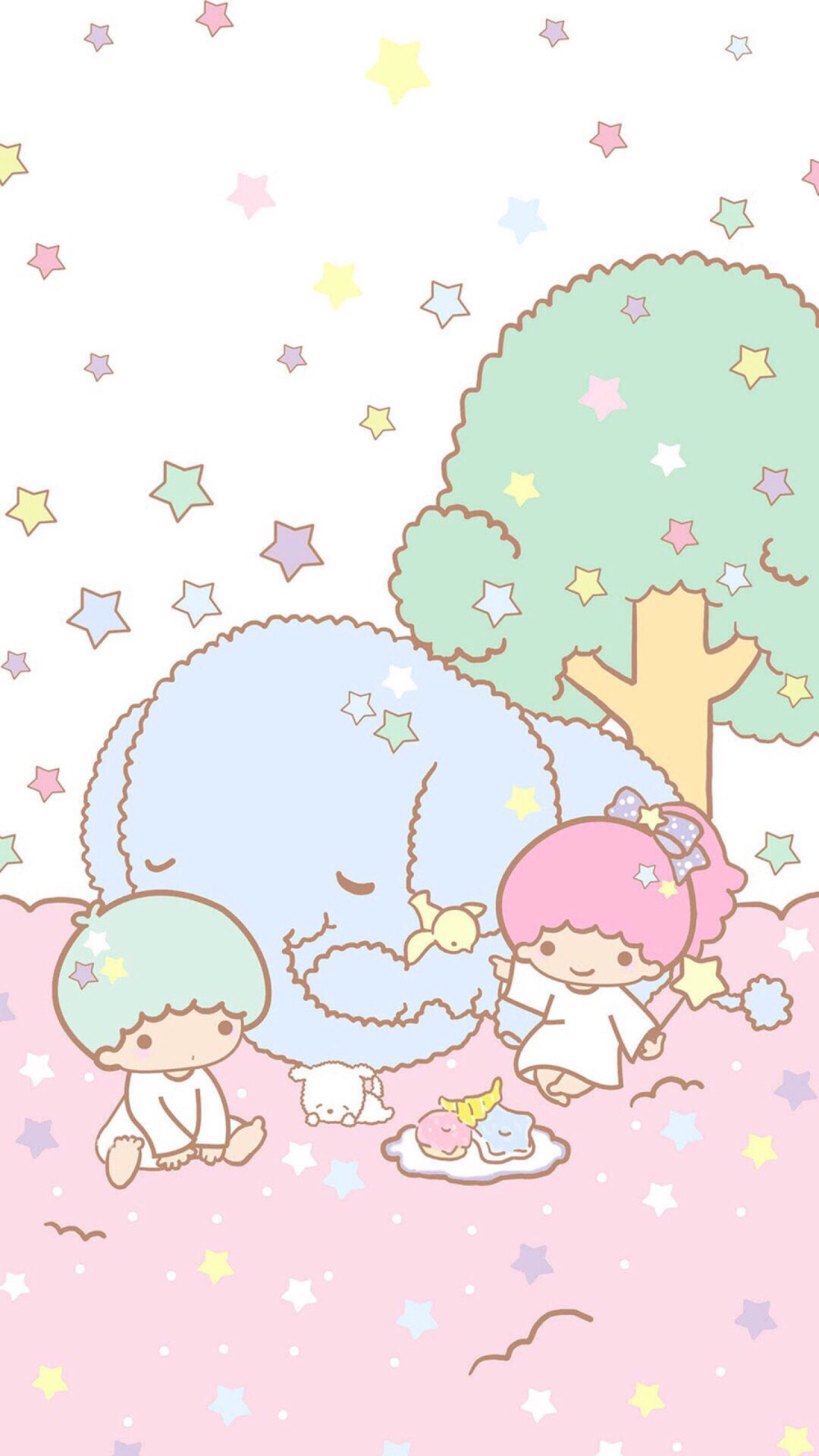 Little Twin Stars · Sanrio WallpaperKawaii WallpaperIphone …