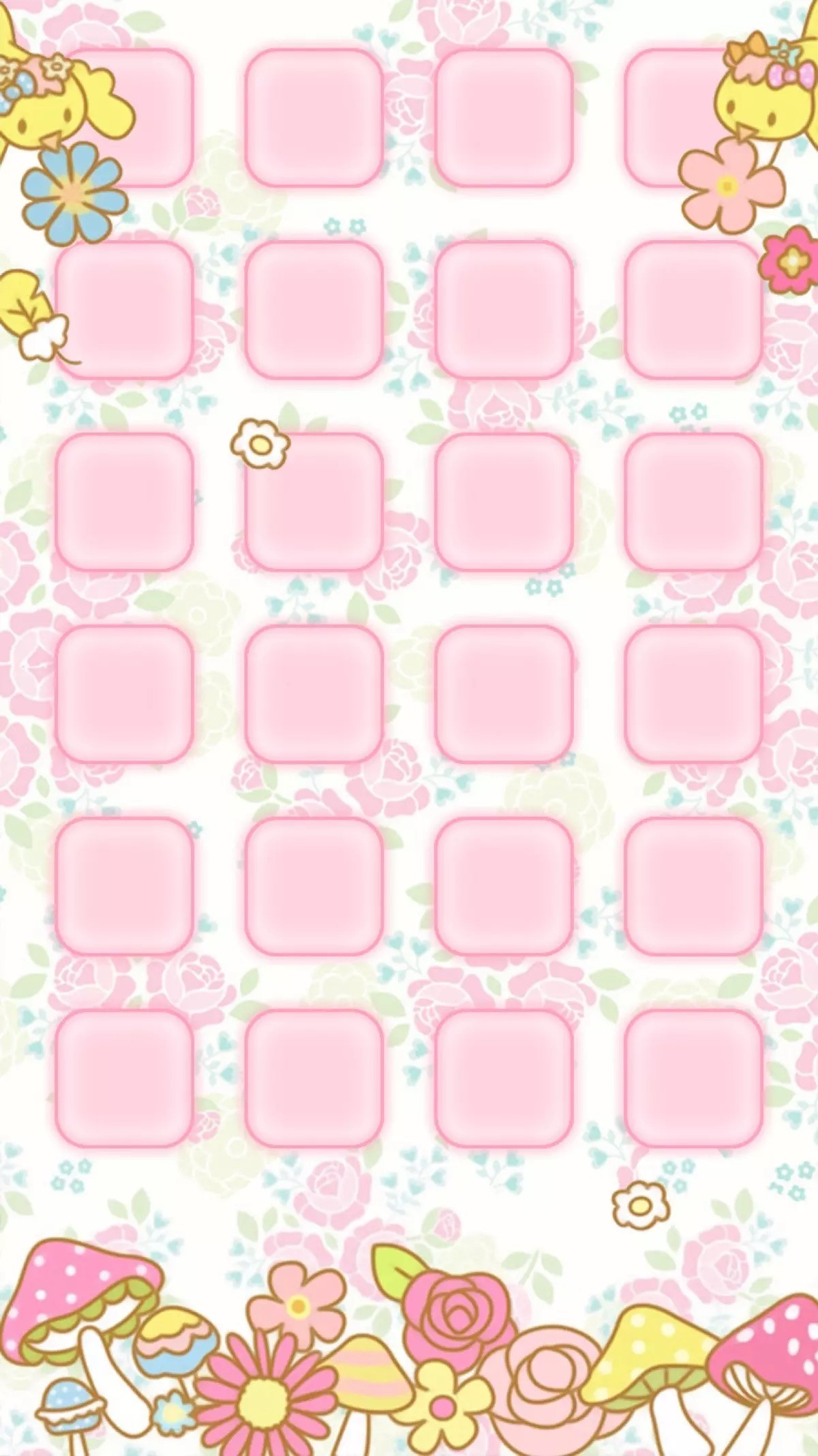 Wallpaper Shelves, Sanrio, Phone Wallpapers, Iphone 7, Twin, Kawaii,  Screens, Walls, Screen