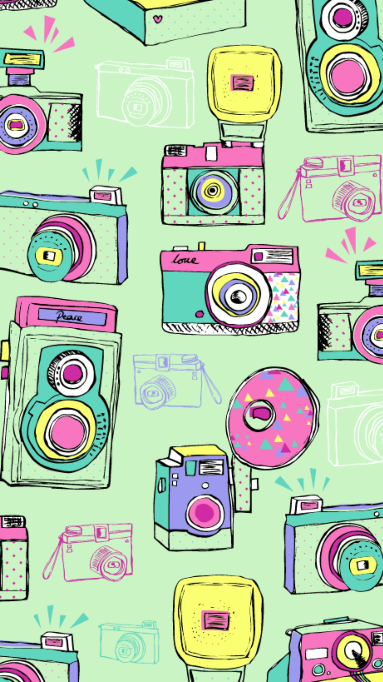 Cute Wallpapers, Iphone Wallpapers, Cellphone Wallpaper, Kefir, Hipsters,  Hamsa, Marian, Pattern, Cameras