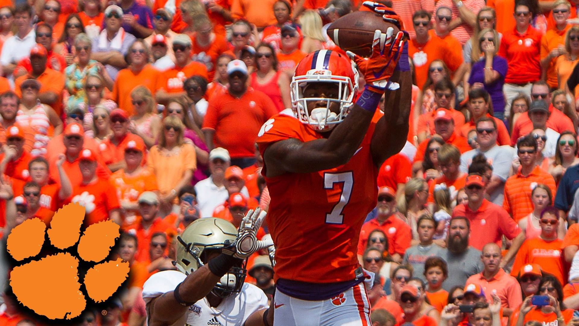 Clemson Star Mike Williams Recovering After This Dangerous Touchdown –  YouTube