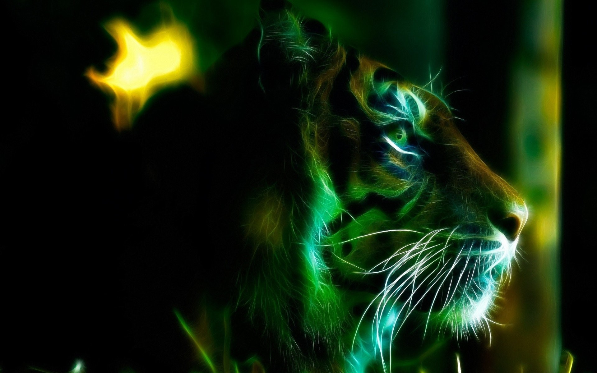Green Tiger Photos Wallpaper HD » Download Wallpaper 1600×1200 Green Tiger  Wallpapers (43