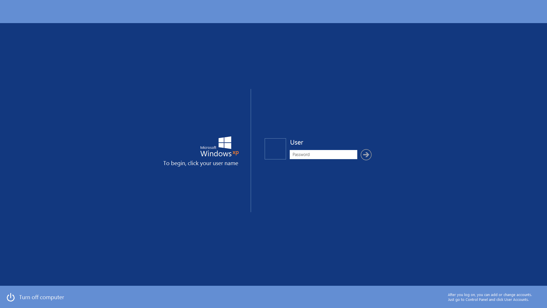Windows XP Metro Logon Screen Concept by gifteddeviant on DeviantArt