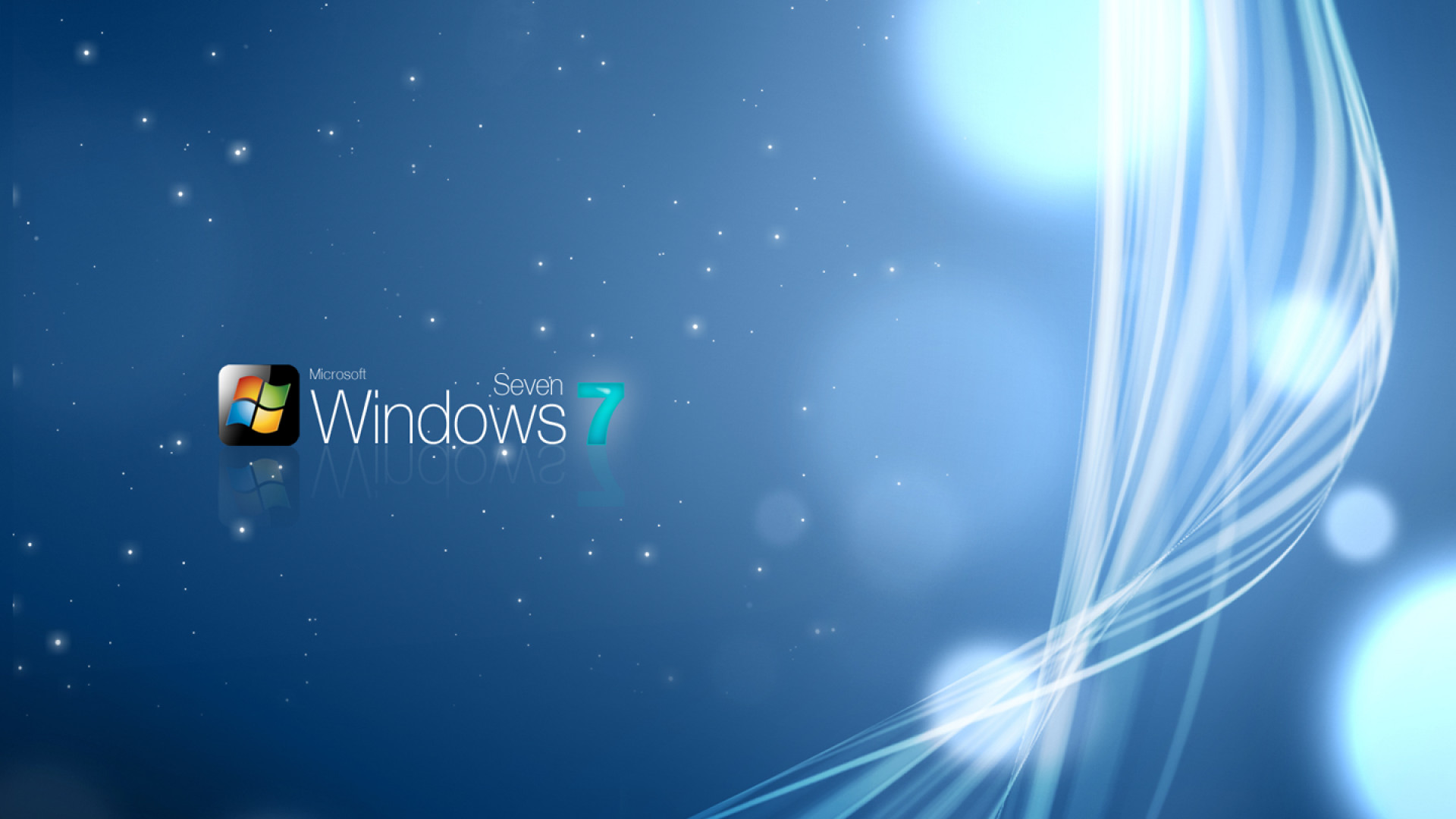 Windows 7 Sparkly Wallpaper – HD Wallpapers