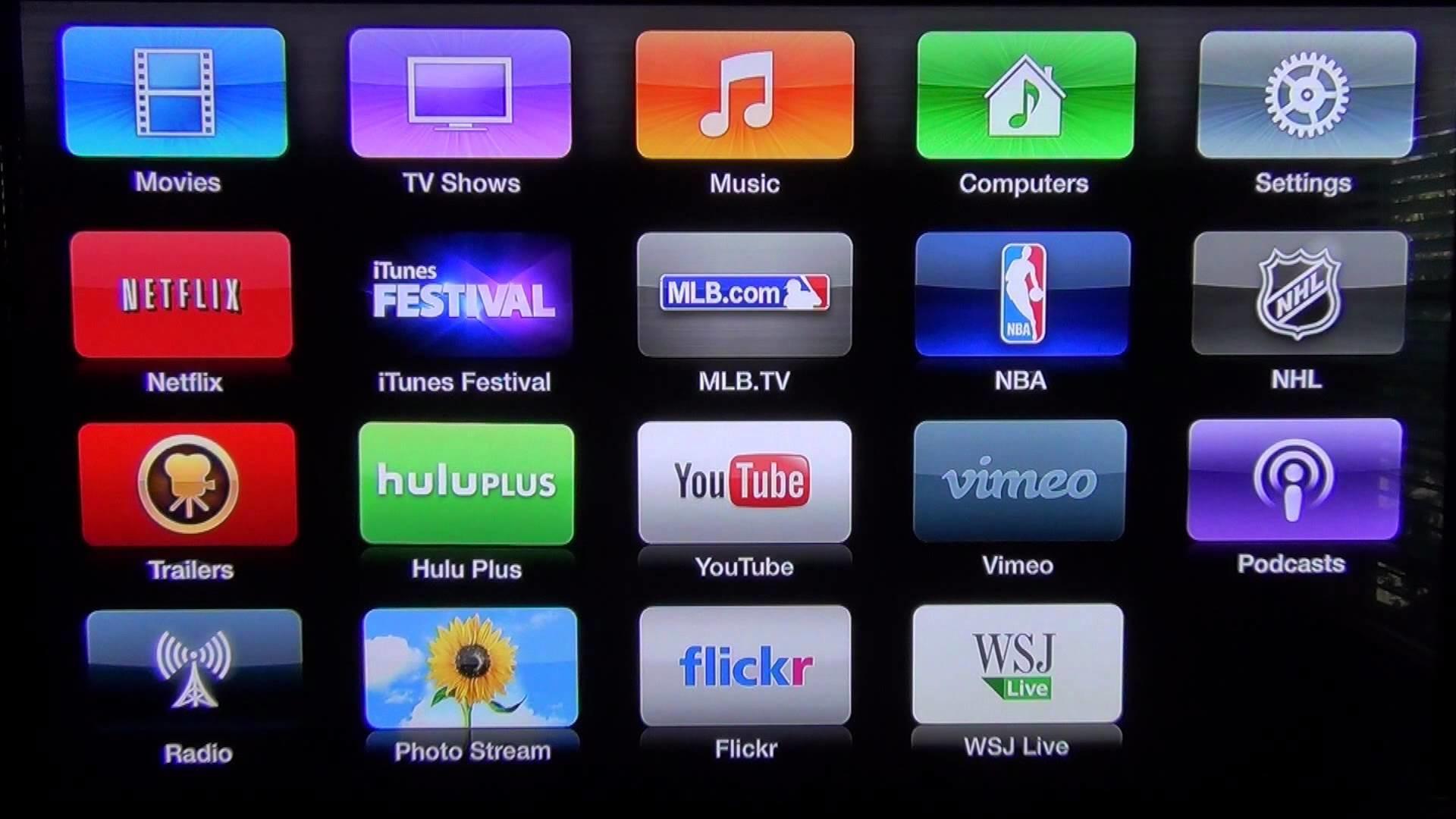 x Apple TV desktop PC and Mac wallpaper