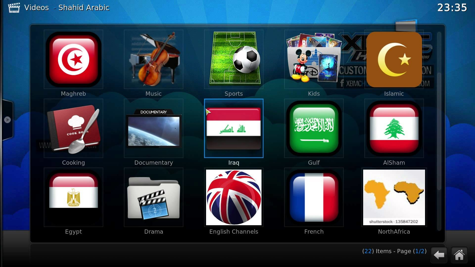 XBMC Shahid MBC net with Teledunet Live TV and Live Sports Channel (October  2014) – YouTube