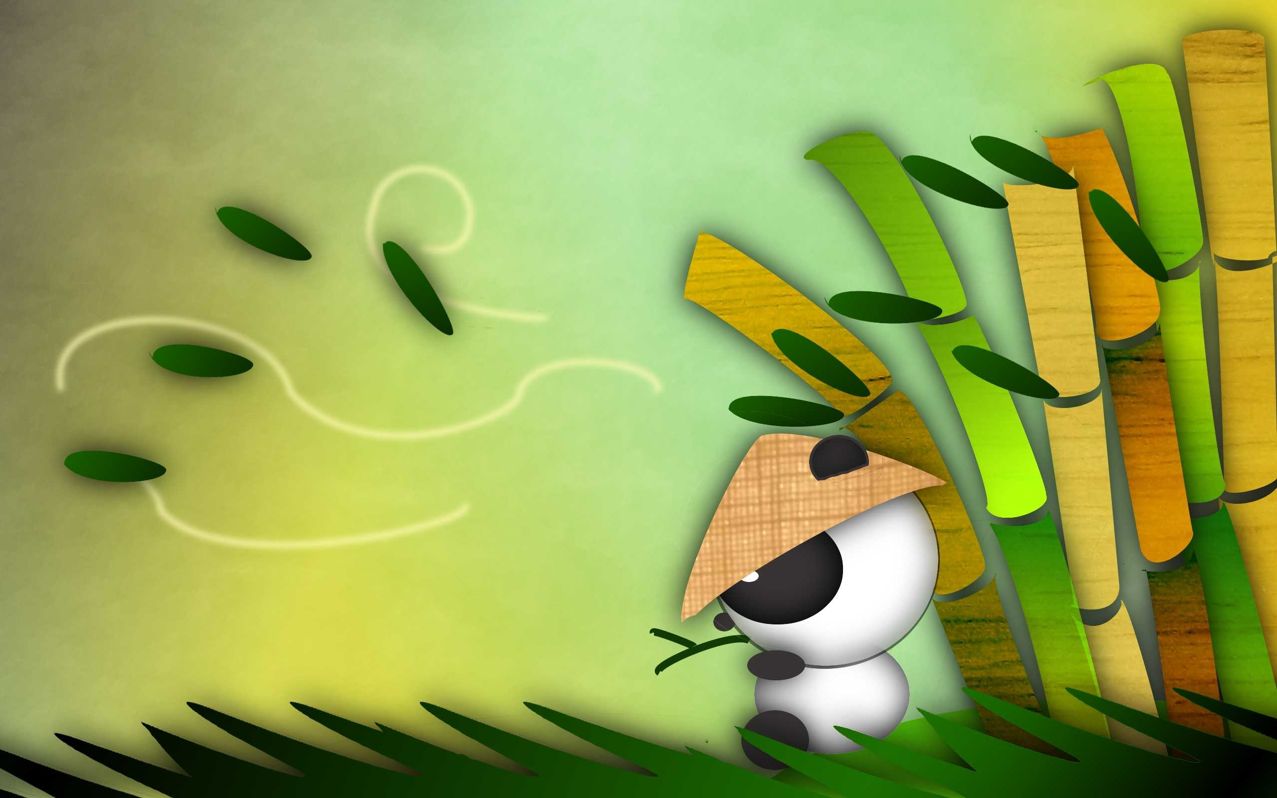 47 Cute Panda Background