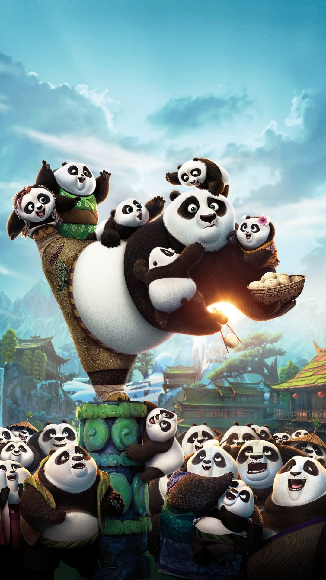 Kung Fu Panda 3 Cute Panda