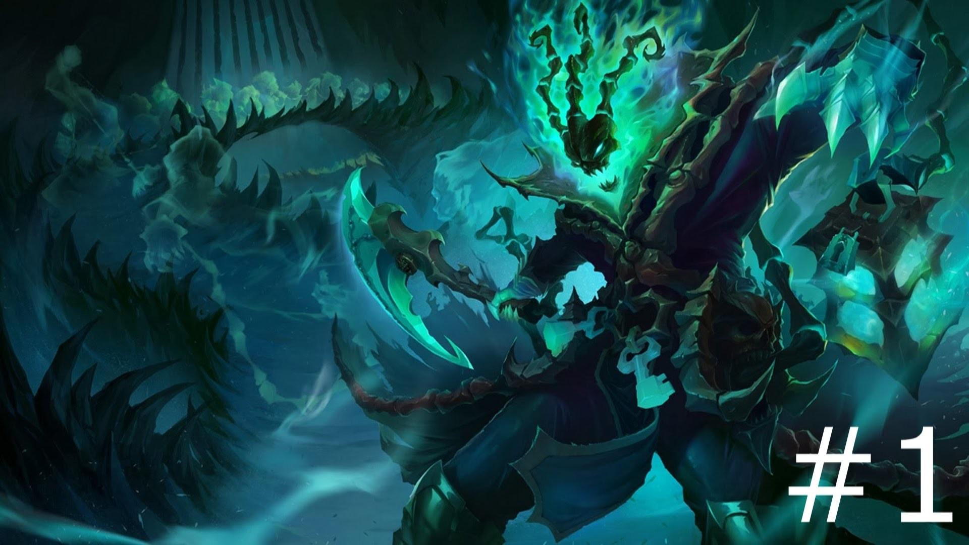 Nami League Of Legends Champions Thresh Update Wallpaper