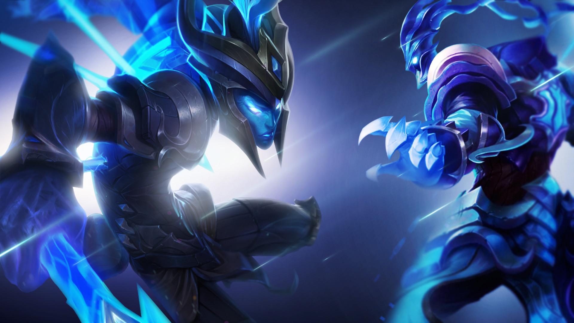 Video Game League Of Legends Kalista Thresh Wallpaper