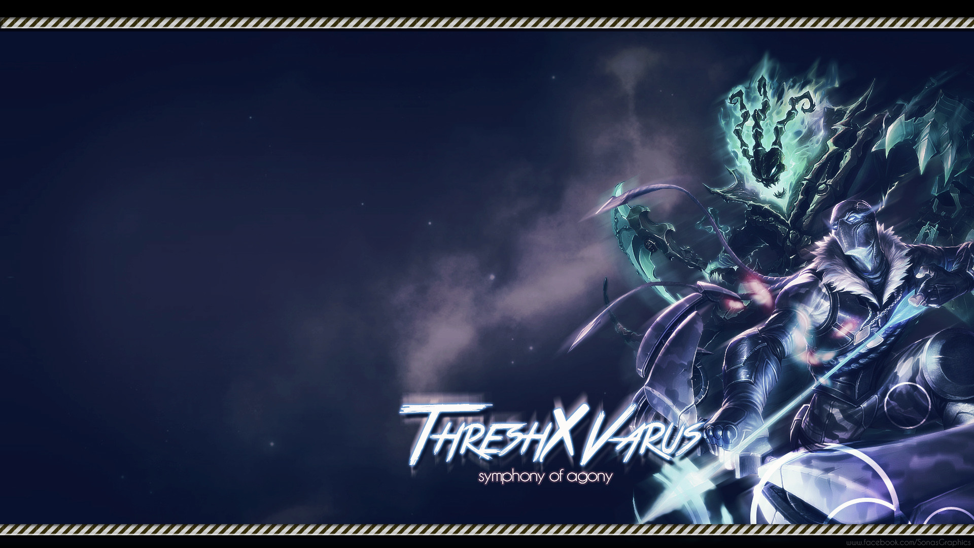 Thresh & Varus by SonasGraphics HD Wallpaper Fan Art Artwork League of  Legends lol