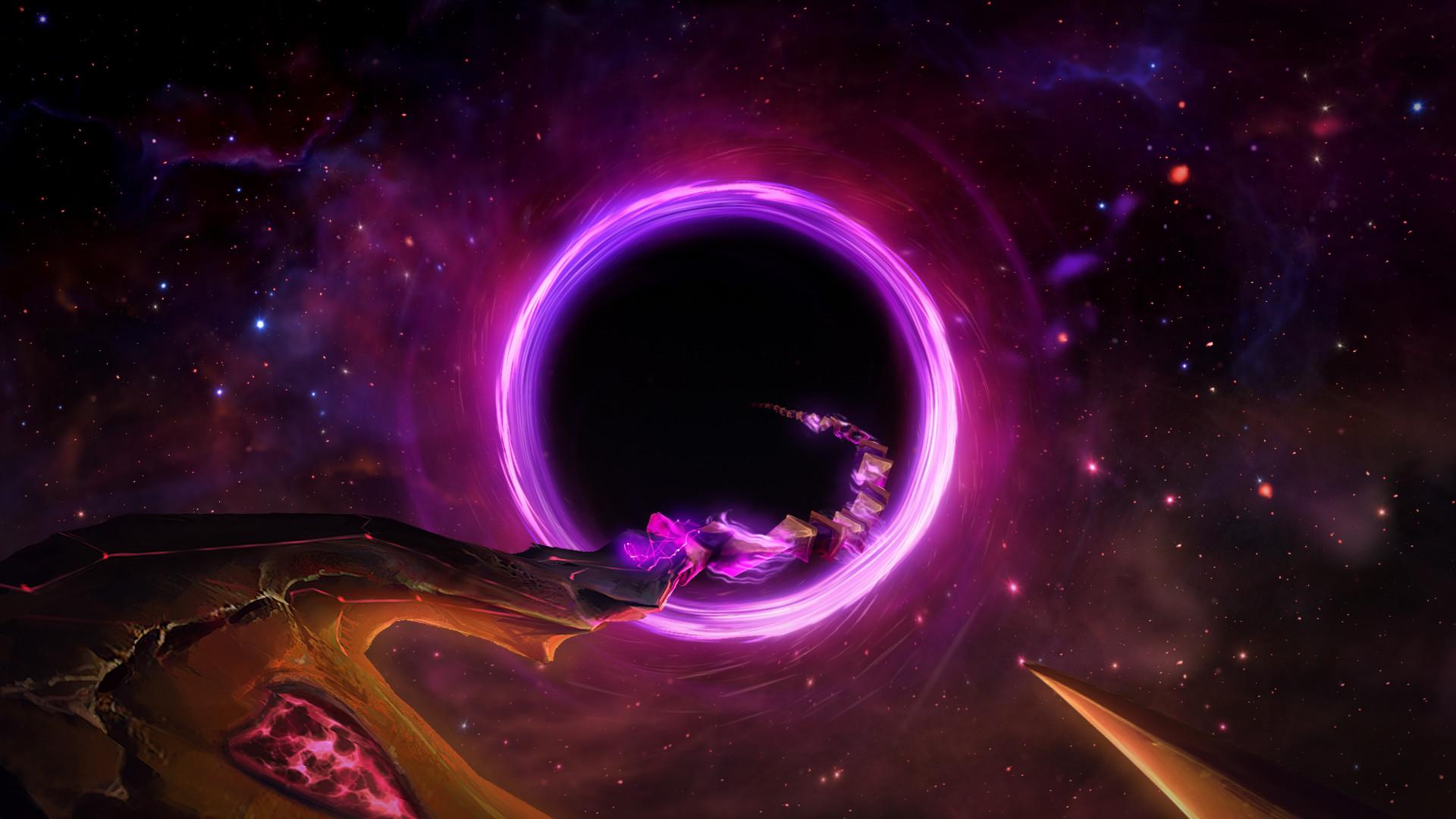 Video Game – League Of Legends Thresh (League Of Legends) Sci Fi Space Dark