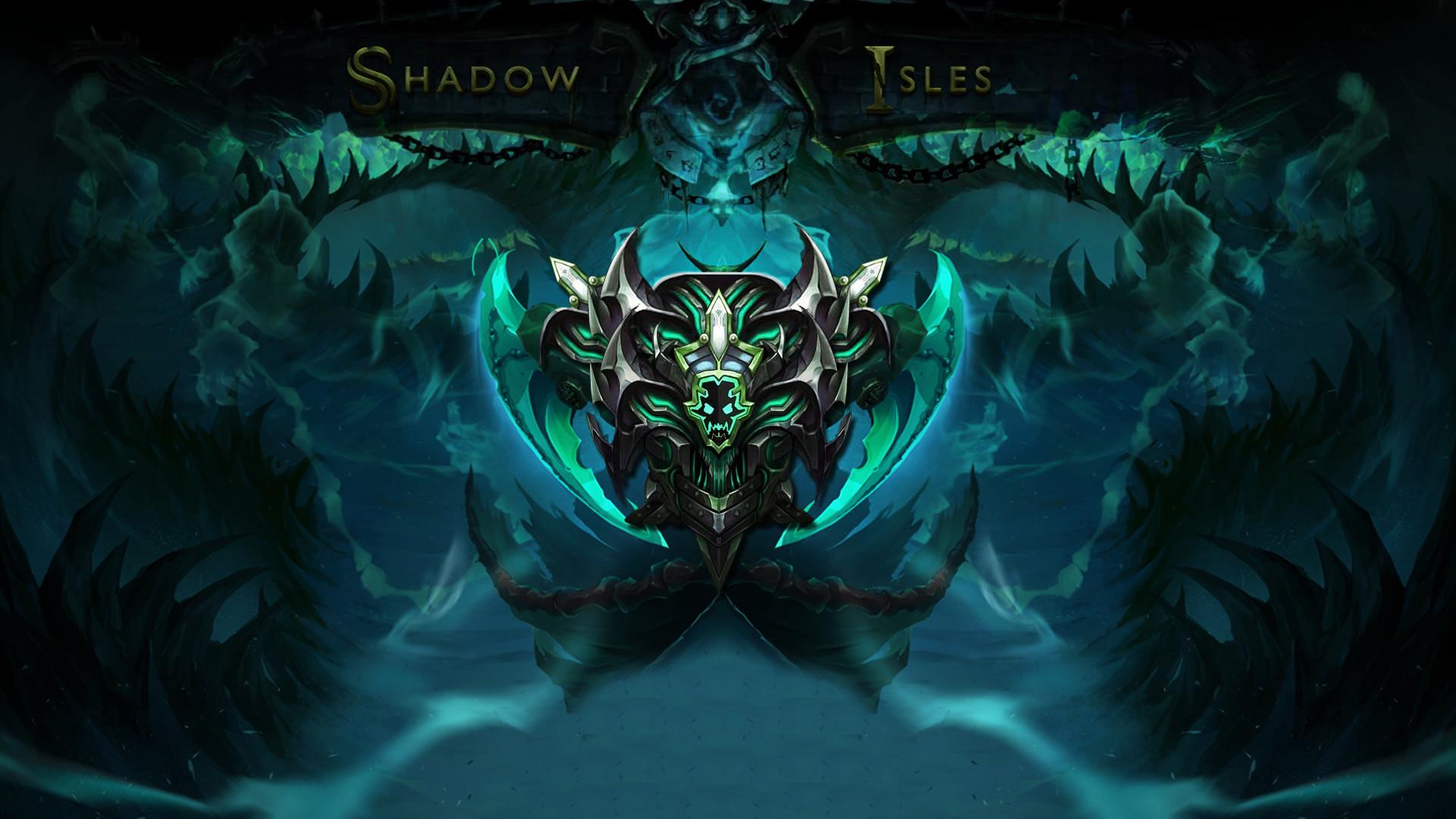 Shadow Isles Background by YoeriGod Shadow Isles Background  by YoeriGod