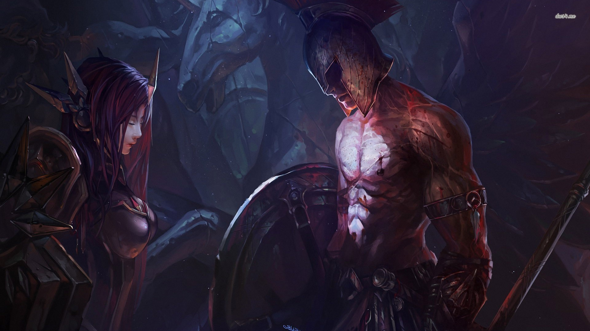 League Of Legends, Leona, Pantheon (League Of Legends) Wallpapers .