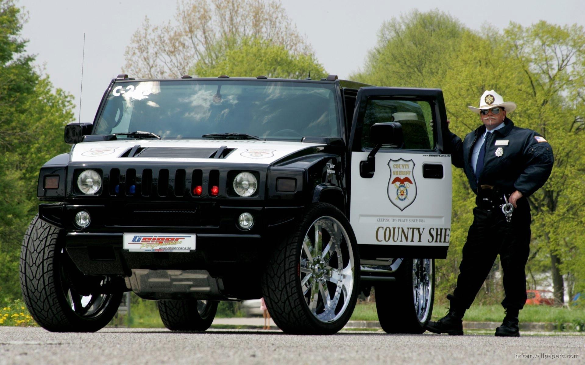Hummer Police Car