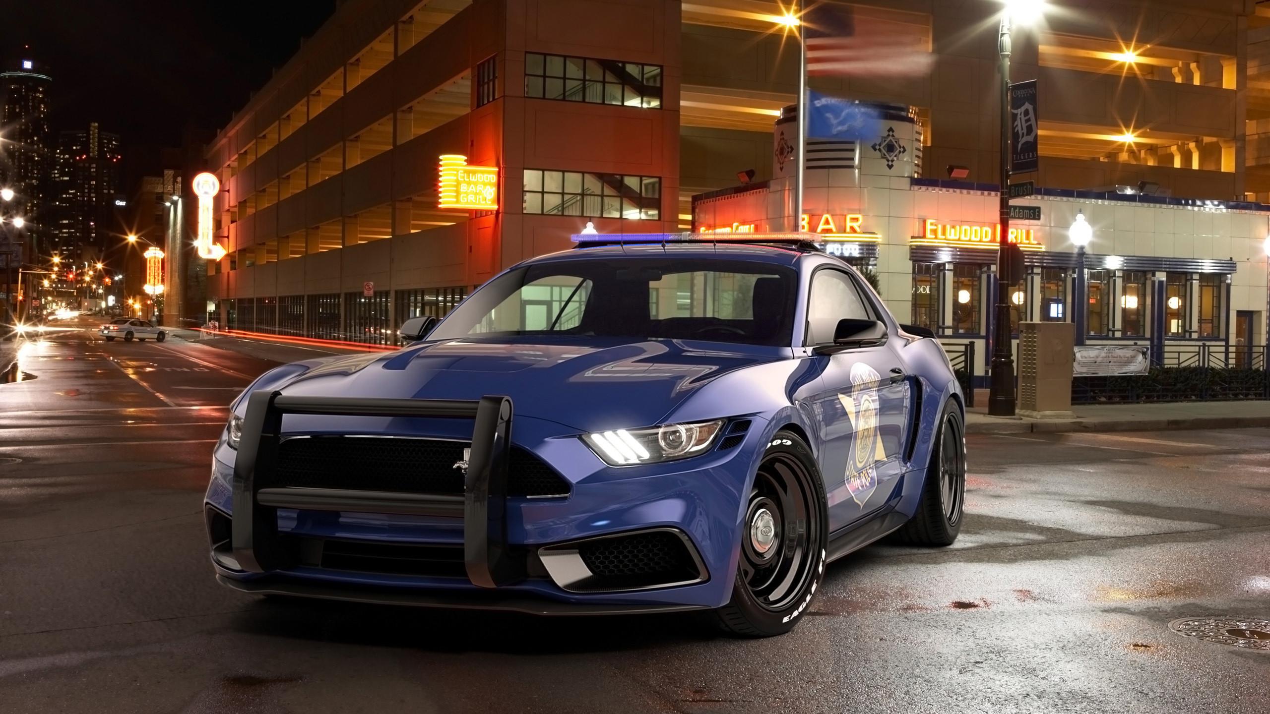 2017 Ford Mustang NotchBack Design Police