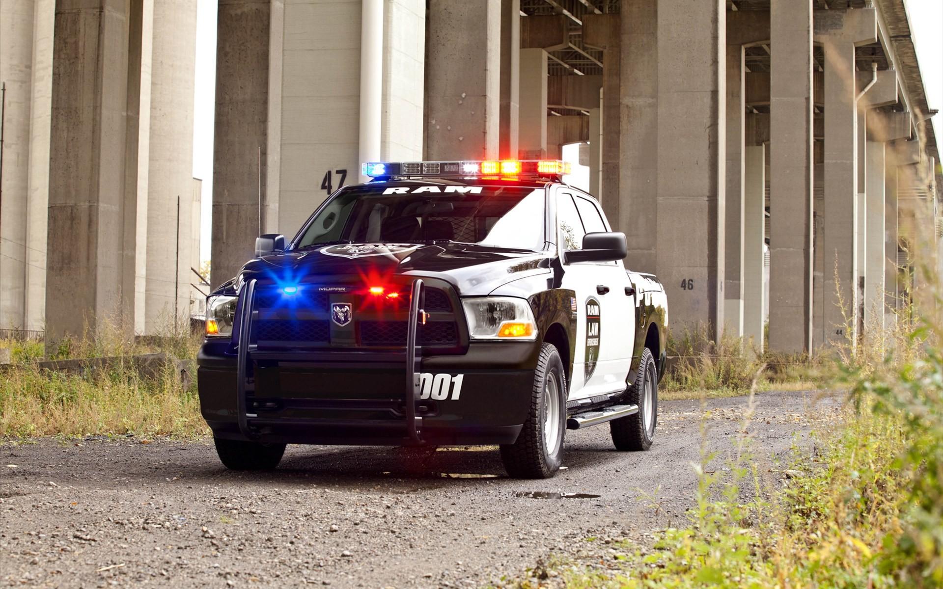 Dodge Ram Police Truck 2012