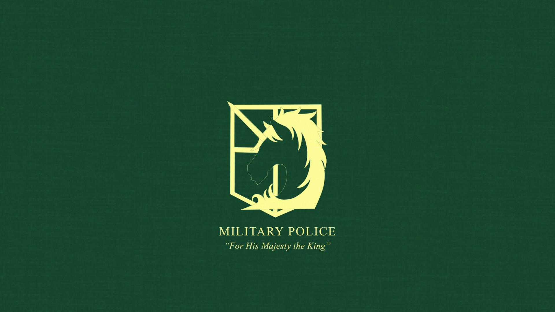 … Attack on Titan Military Police Wallpaper by Imxset21