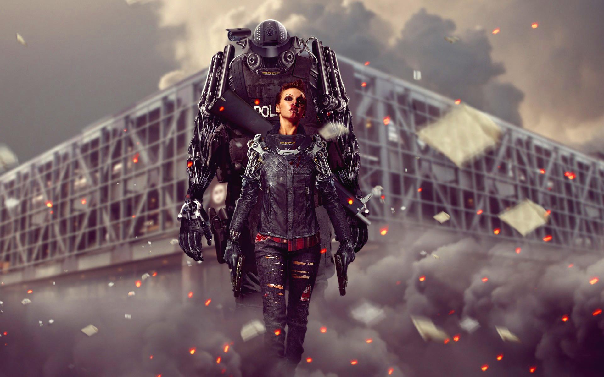 Cyborg police