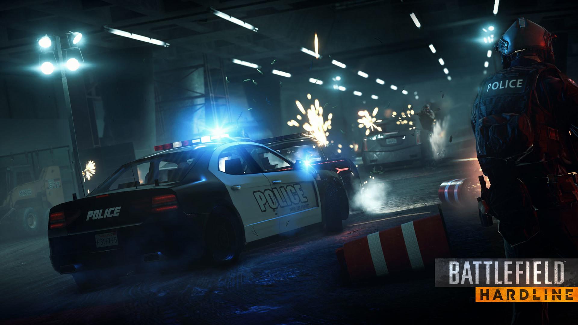 Battlefield Hardline – Police Car wallpaper