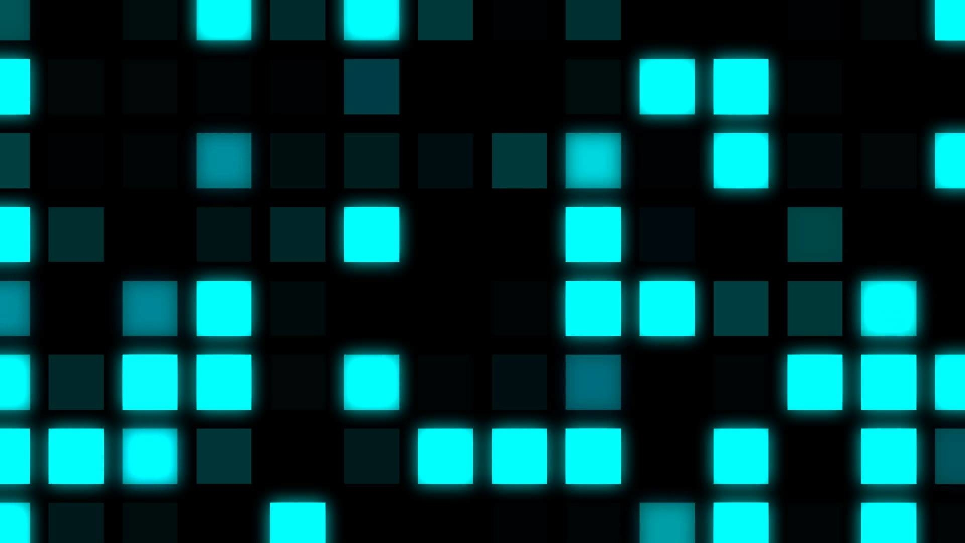 Videogame Background ANIMATION FREE FOOTAGE HD Big Pixel Cyan square –  YouTube