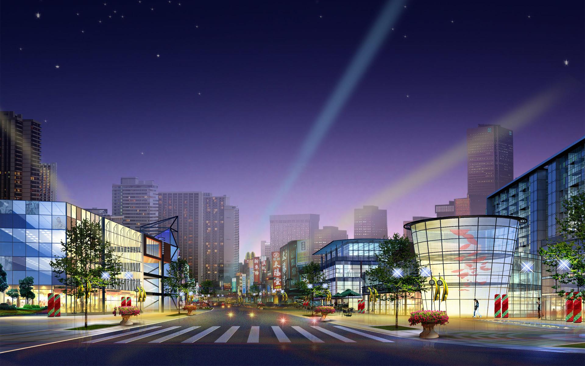 modern architecture | 3D modern City Architecture HD Wallpaper,Modern hd  wallpapers .